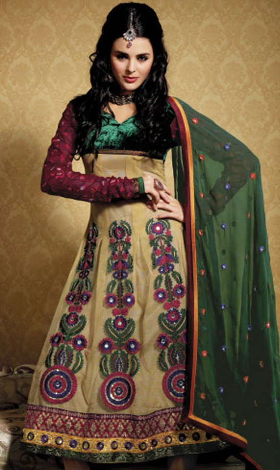 Latest Bollywood Party Wear Salwar Suits 2016 2017: Latest Anarkali Dress Designs 2012-2013 For Indian Girls