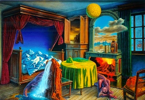 01-Traveller-Room-Marcin-Kołpanowicz-Paintings-of-Creative-Surreal-Worlds-ready-to-Explore-www-designstack-co