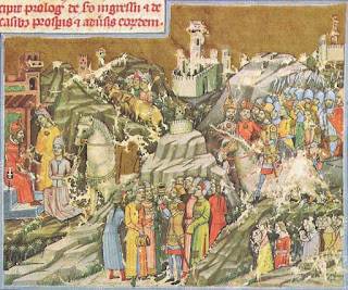 Hungarian conquest of the Carpathian Basin and subsequent events from the Chronicon Pictum