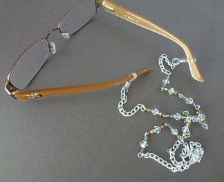 30305d4796e9 How to Make Eye Glass Necklace Holder Tutorials - The Beading Gem s ...