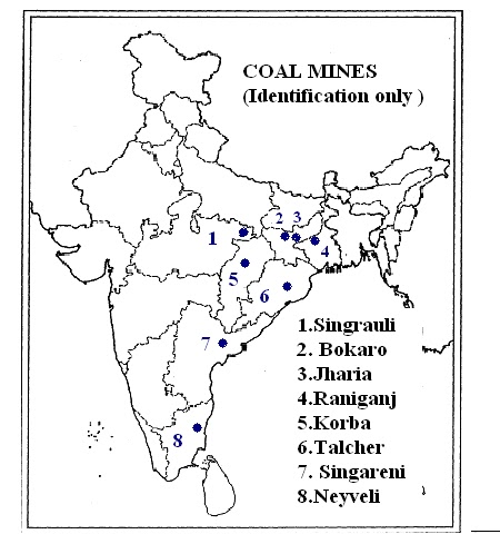 geography: MINERAL &POWER RESOURCES MAP -1 (for