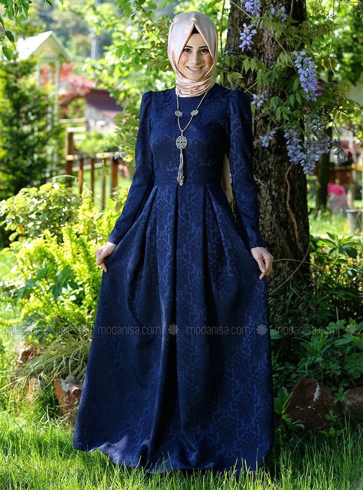 Model Baju Pesta Brokat Muslimah
