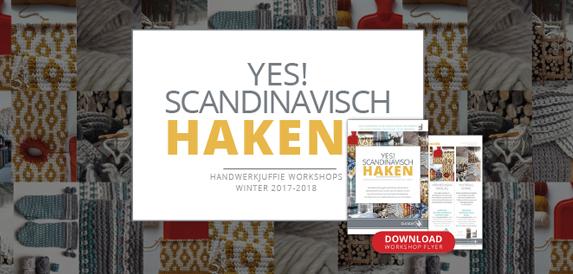 Workshop Scandinavisch Haken Handwerkjuffie
