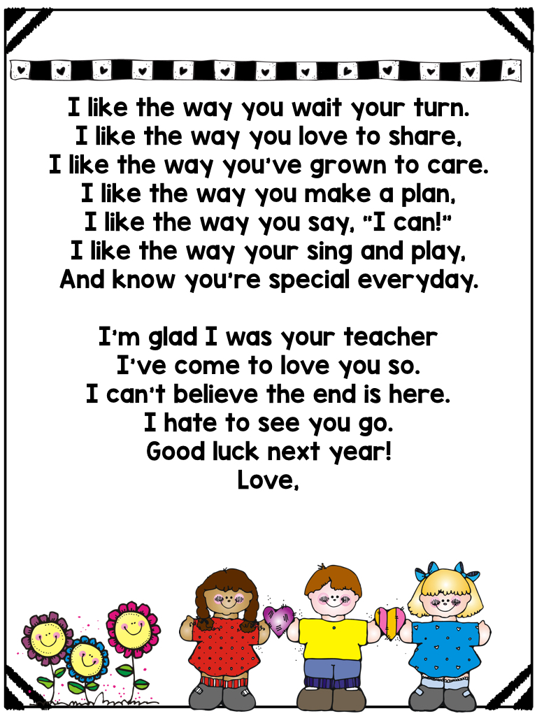 end of the year letter to parents from those kinders i am wonderful farm and end 22349