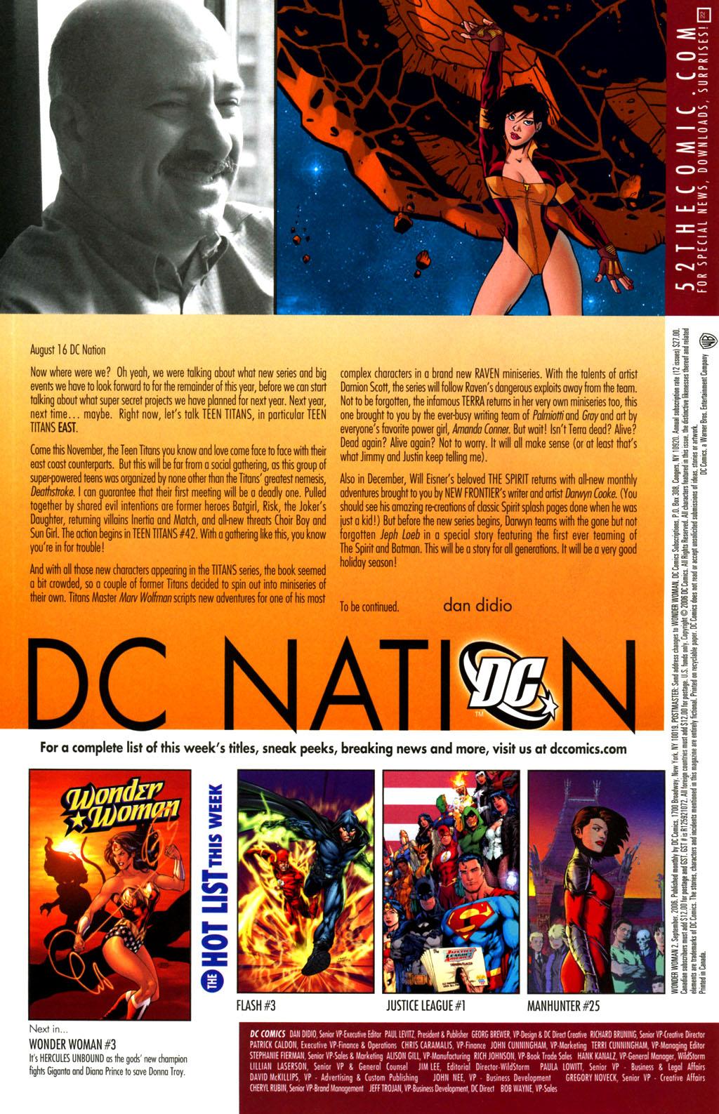Read online Wonder Woman (2006) comic -  Issue #2 - 21