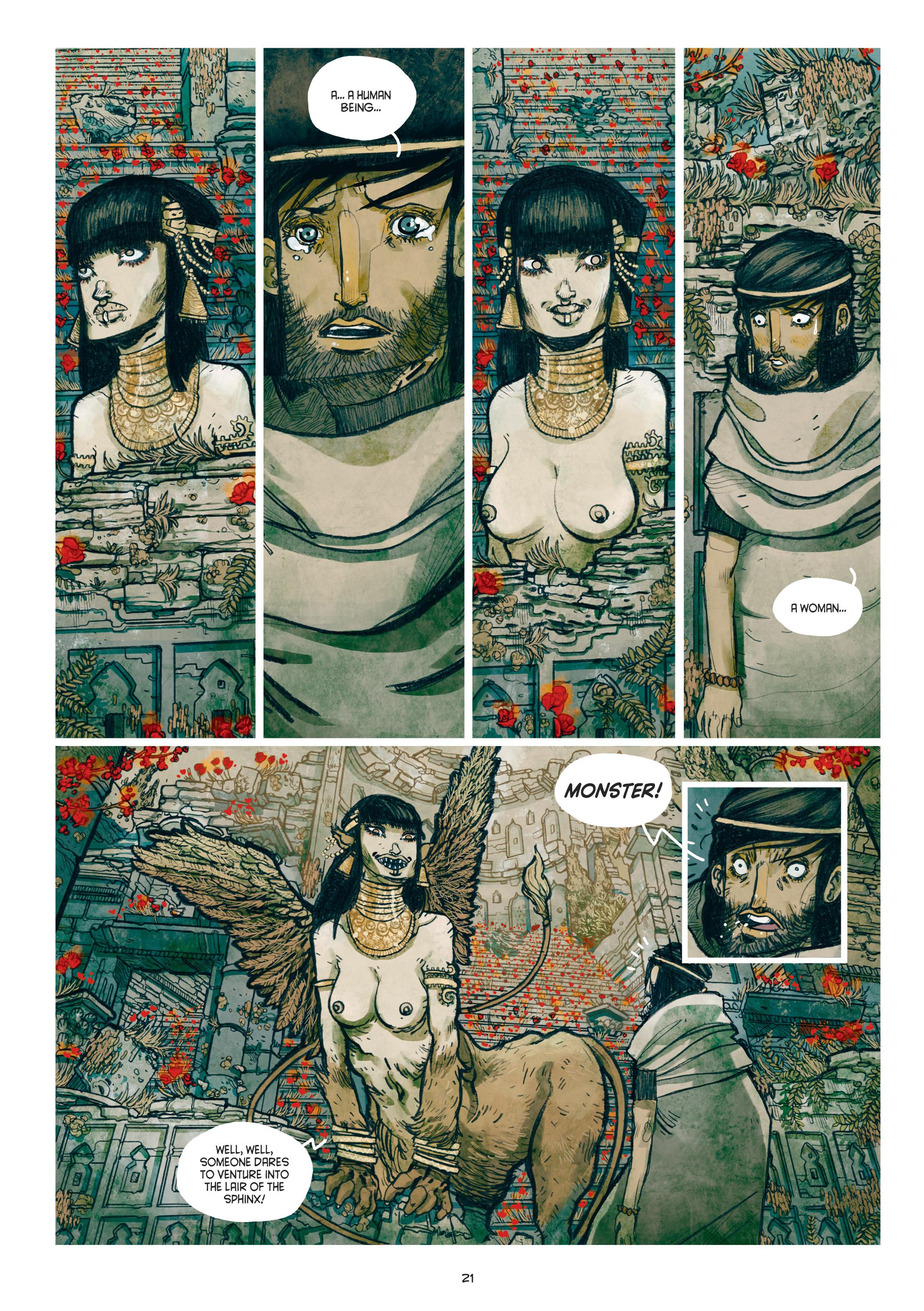 Read online Adrastée comic -  Issue #1 - 22