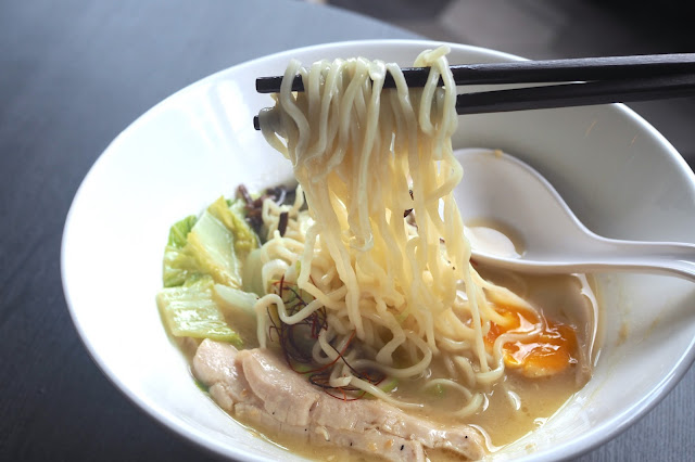 ZAMZA Osaka Style Tori Kuriya 'Clear' Shio Broth (Light Option) (S$10).