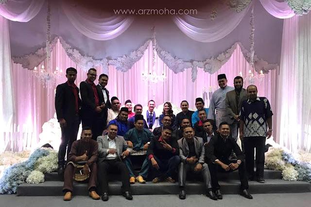 Majlis resepsi Sharnaaz Ahmad Penang, bahayakan reunion sekolah, reunion sekolah di majlis resepsi, reunion sekolah kembali eratkan siratulrahim, kebiakan reunion sekolah,