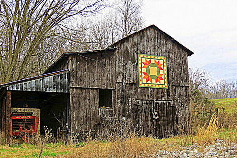 Tennessee barn quilt