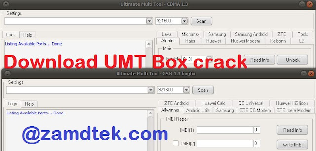 Download and Use UMT Box crack working 100%