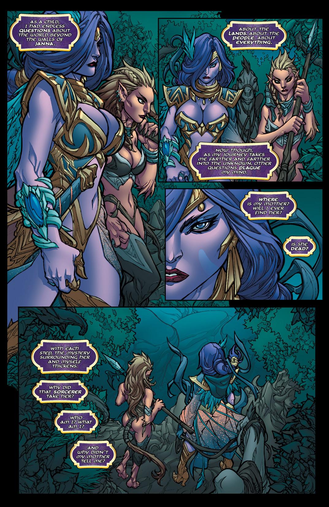 Read online Jirni comic -  Issue #1 - 21