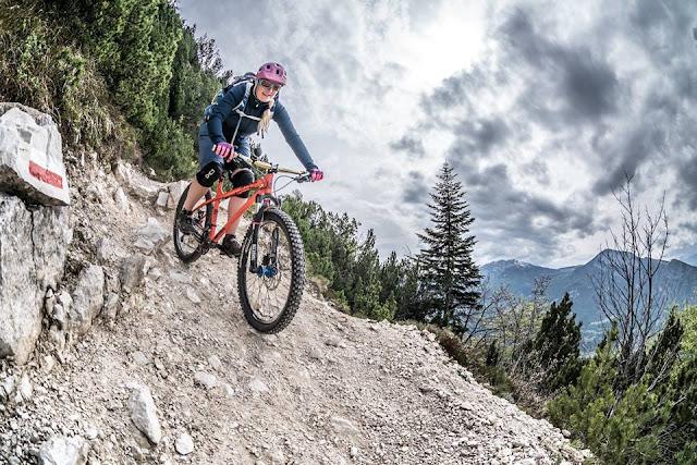 petra zeller mountainbike fahren in der schwangerschaft
