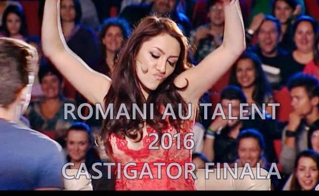 castigator finala romanii au talent 2016