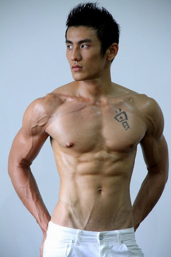 Shirtless Asian Male 65