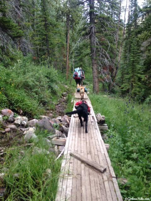 Backpacking to Priord Lake, Uintas
