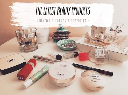 The latest beauty products