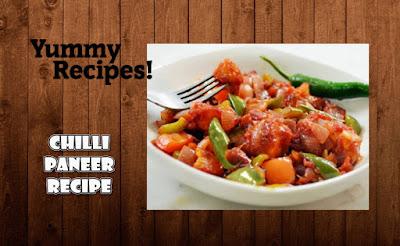 Chilli Paneer Recipe - How To Make Chilli Paneer