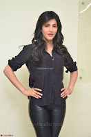 Shruti Haasan Looks Stunning trendy cool in Black relaxed Shirt and Tight Leather Pants ~ .com Exclusive Pics 075.jpg