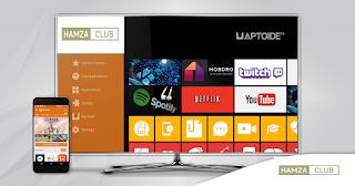 متجر Aptoide TV لتحميل جميع التطبيقات والالعاب المتوافقة مع التلفزيونات الذكية واجهزة Tv Box بلاحساب