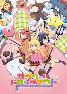 detail dan nonton trailer anime Gabriel DropOut (2017)