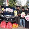 Relawan BTB Bawa Popo dan Makanan Untuk Korban Tsunami/Gempa Palu dan Donggala