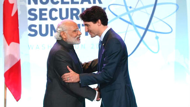 Canadian pm justin trudeau india visit in hindi