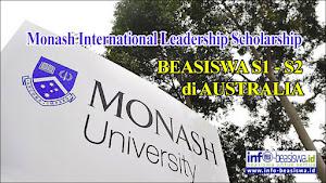 Beasiswa Monash International Leadership untuk Jenjang S1 & S2 di Australia