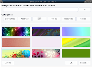 Temas do LibreOffice escolha