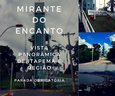 vista panorâmica da cidade de Itapema