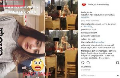 Biodata Salshabilla Adriani, Artis Cantik Multi Talenta Yang Tertangkap Merokok