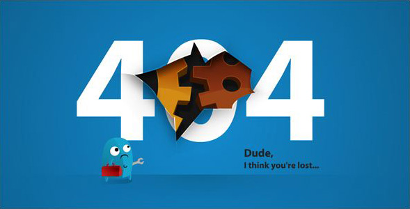Awesome stylish 404 error pages for blogger maxwellsz