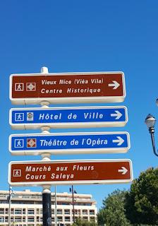 Dos horas en Niza.