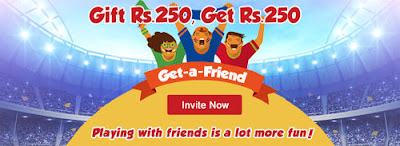 dream11 refer a friend