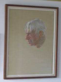 Carl Sandburg  Pastel Portrait