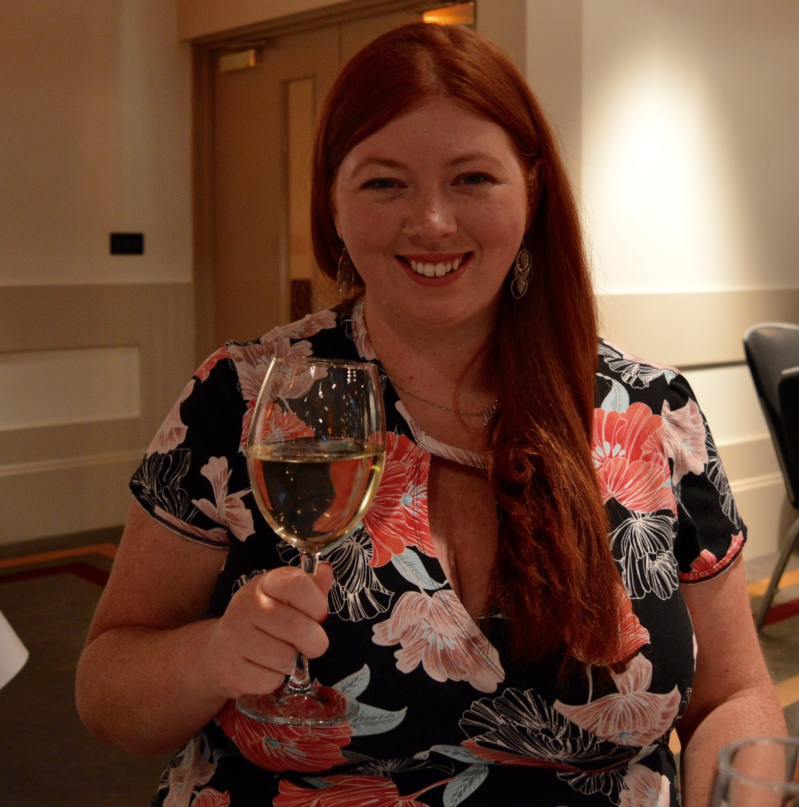 A grown-up date night at Doubletree by Hilton Newcastle Airport with a night of swing and sax with Jason Isaacs in the function room.  - wine prices