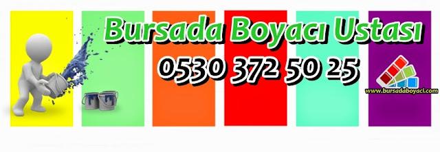 Bursa Boya Badana Ustası Fiyatları