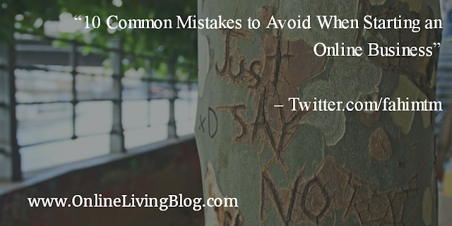 10 Common Mistakes to Avoid When Starting an Online Business