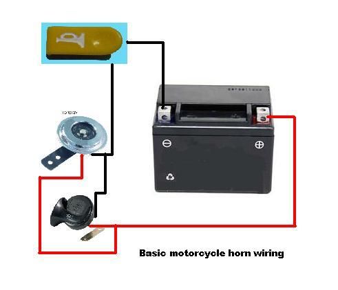 block+diagram+of+simple+motorcycle+horn+wiring?resize=491%2C422 bosch horn relay wiring diagram the best wiring diagram 2017 motorcycle horn wiring diagram at bayanpartner.co