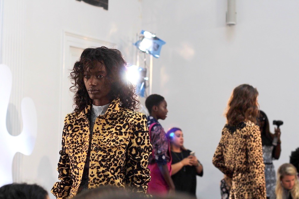 ong oaj pairam leopard print lfw ss17