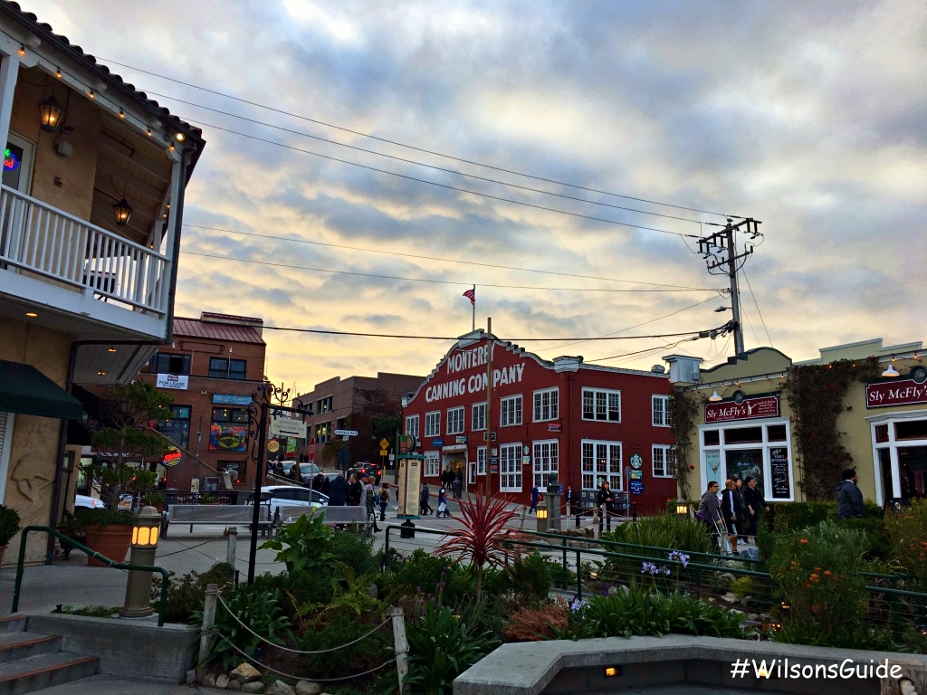 Not More Than A Mere Several Blocks Long At Most This Main Drag Of New Monterey Is Packed With Touristy Attractions Restaurants Hotels