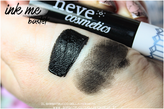 BASTET SWATCHES  INKME EYELINER NEVE COSMETICS REVIEW RECENSION