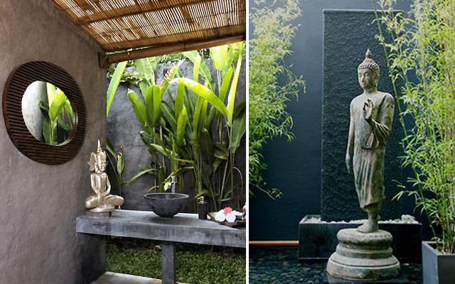 Marzua ideas para decorar con budas for Jardines pequenos orientales