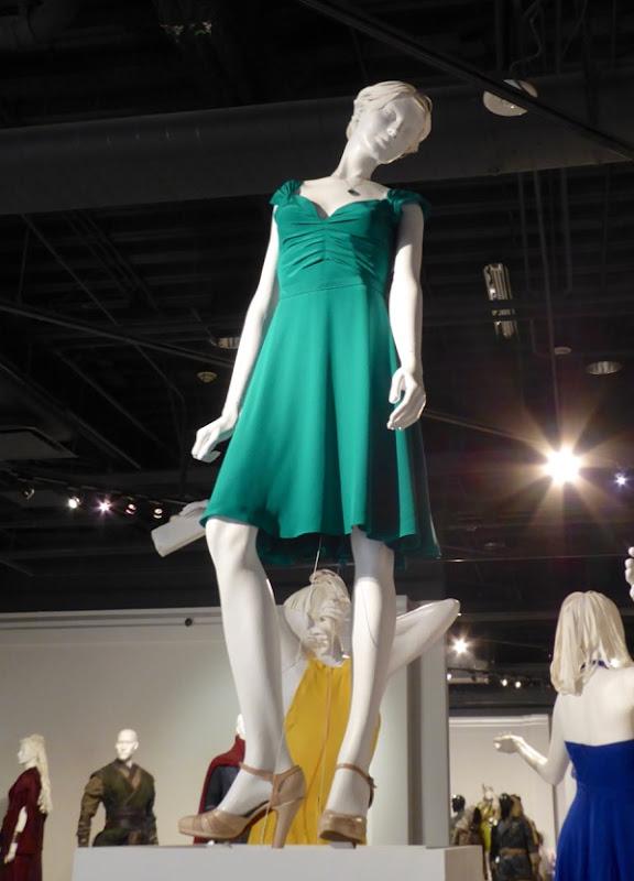 Emma Stone La La Land Mia Griffith Observatory green dress