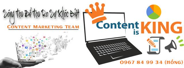 Lên top cùng dịch vụ content - viết bài chuẩn seo giá rẻ