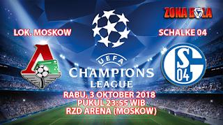 Prediksi Bola Lokomotiv Moskow vs Schalke 3 Oktober 2018