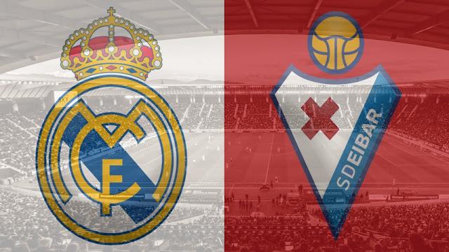 مشاهدة مباراة ريال مدريد وايبار بث مباشر