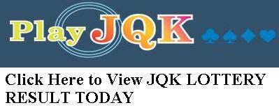JQK LOTTERY RESULT TODAY