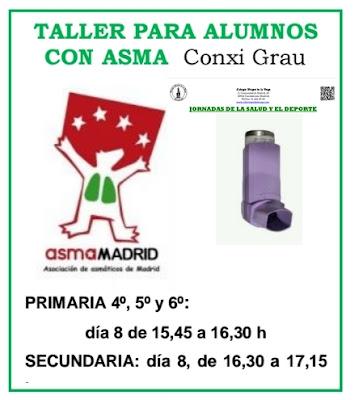 Taller para alumnos con Asma