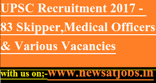 UPSC-jobs-83-Skipper-MO-Various-Vacancies