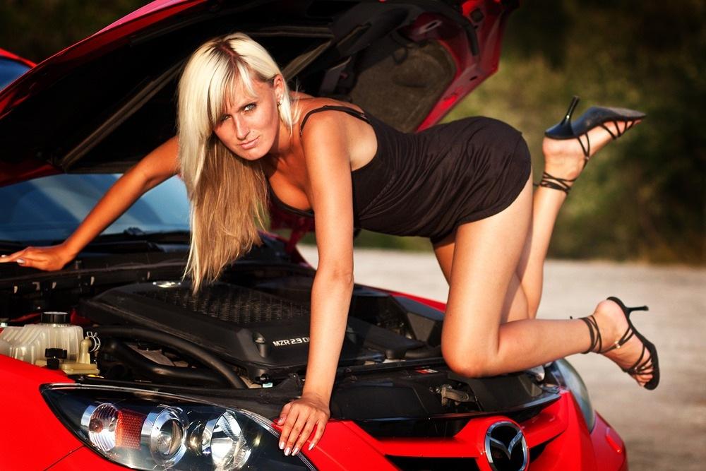 Mazda 3, panny, samochody